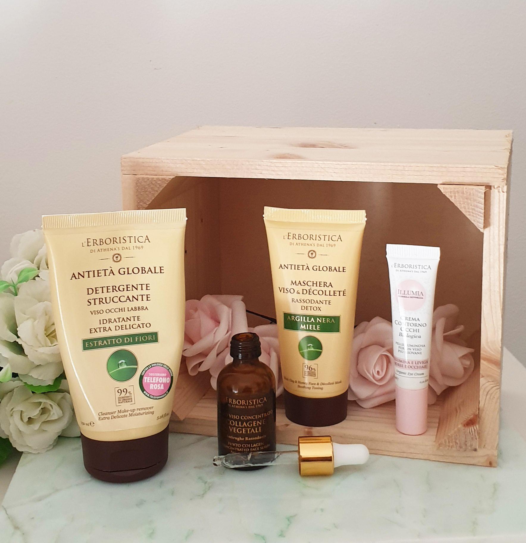 Skincare green con L'Erboristica di Athena's